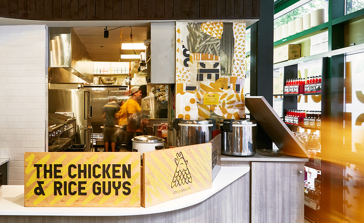 Chicken & Rice Guys: 85 Bedford St
